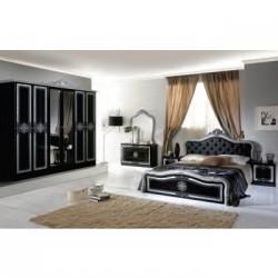 Dormitor Luisa Nero Gold