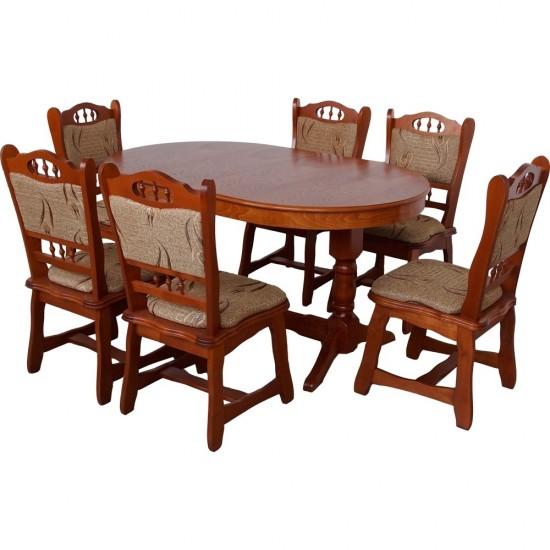 Set Masa Europa cu 6 scaune