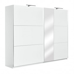 mobilier Elegance ,dulap haine cu usi glisante si oglinda 230cm
